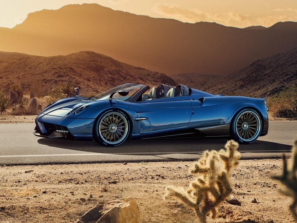 Pagani Huayra Roadster je krásný, ale koupit si ho nemůžete