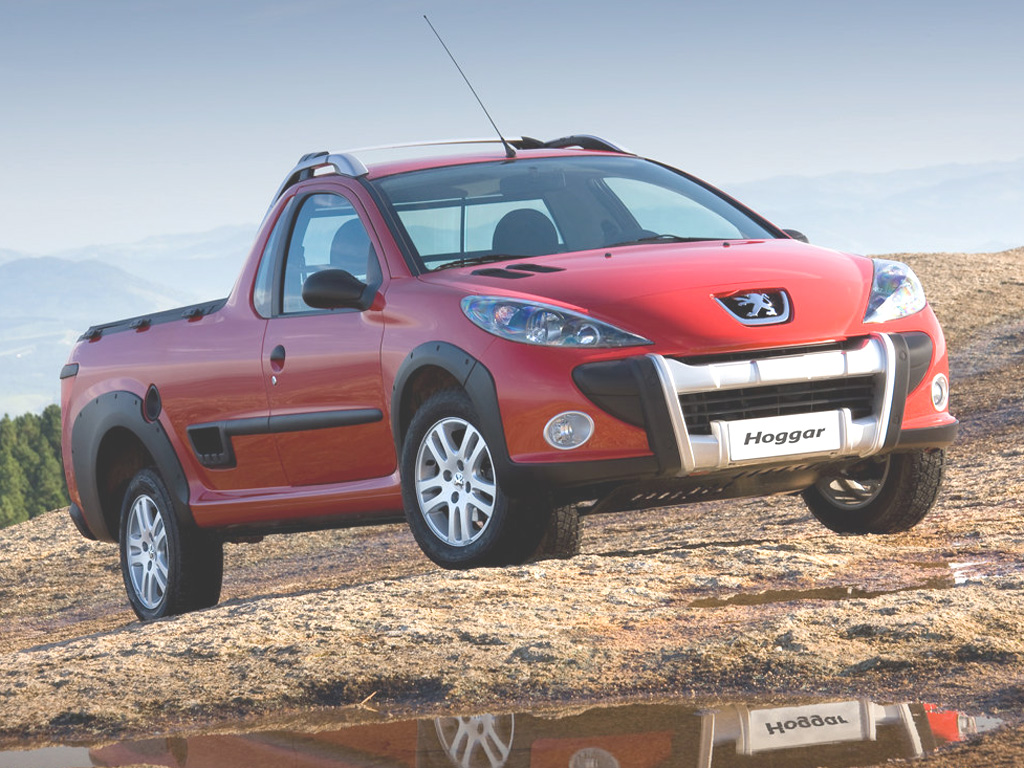 Peugeot Hoggar: Pick-up na bázi 207