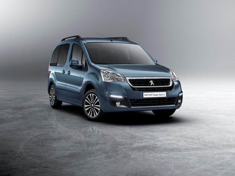 Peugeot Partner Tepee Electric to je auto pro pět cestujících a zavazadla