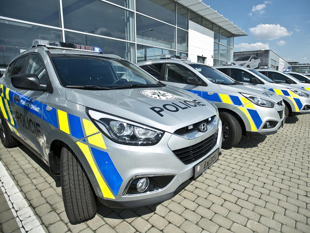 Policie ČR pořídila 150 vozů Hyundai ix35