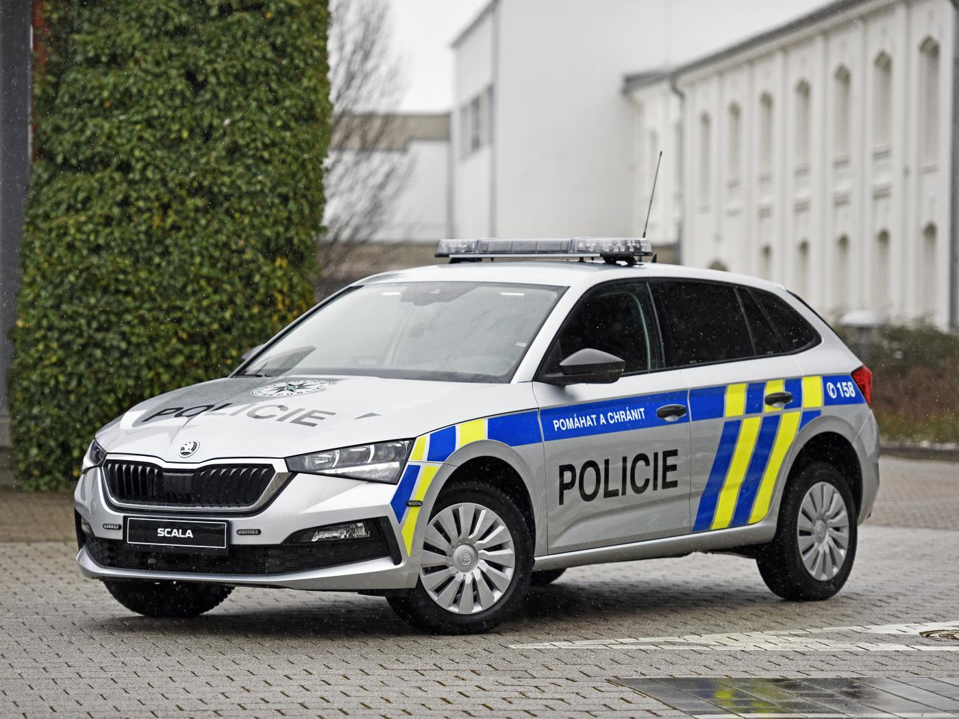 Policisté budou jezdit modely Škoda Scala, byly nejlevnější