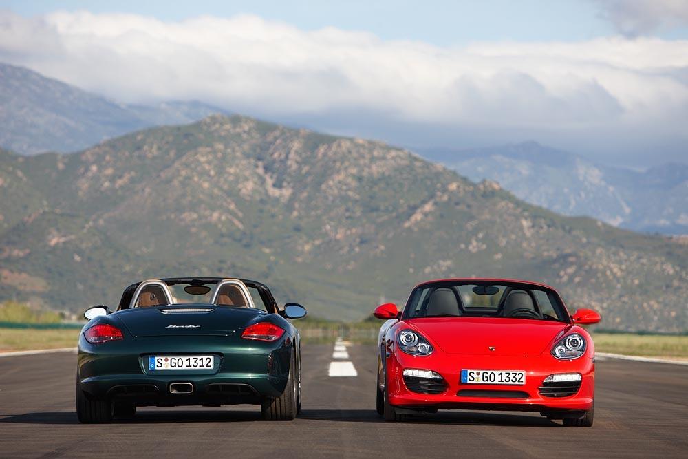 Porsche bude testovat plně elektrické Boxstery!