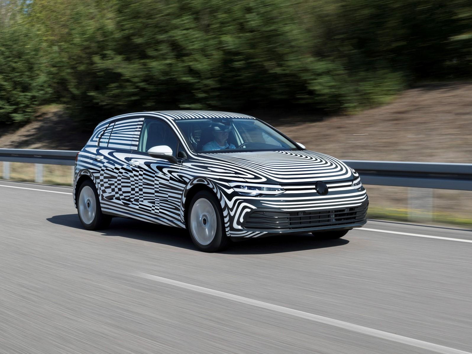 Poslední fáze testů nového Volkswagenu Golf byla zahájena