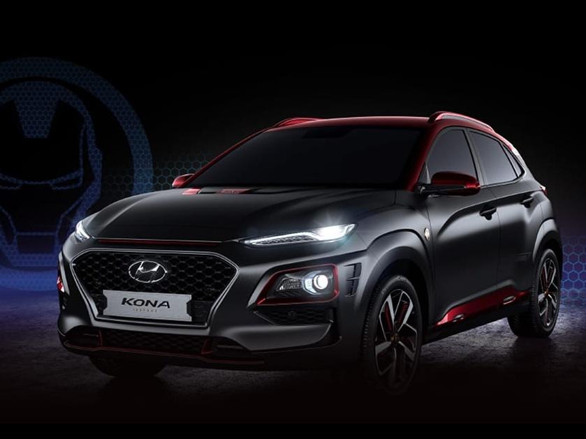 Přijíždí Hyundai Kona v limitované edici Iron Man