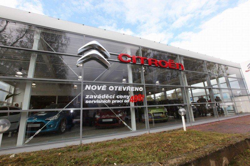 Prvních 5 showroomů Citroënu v nové image je realitou!