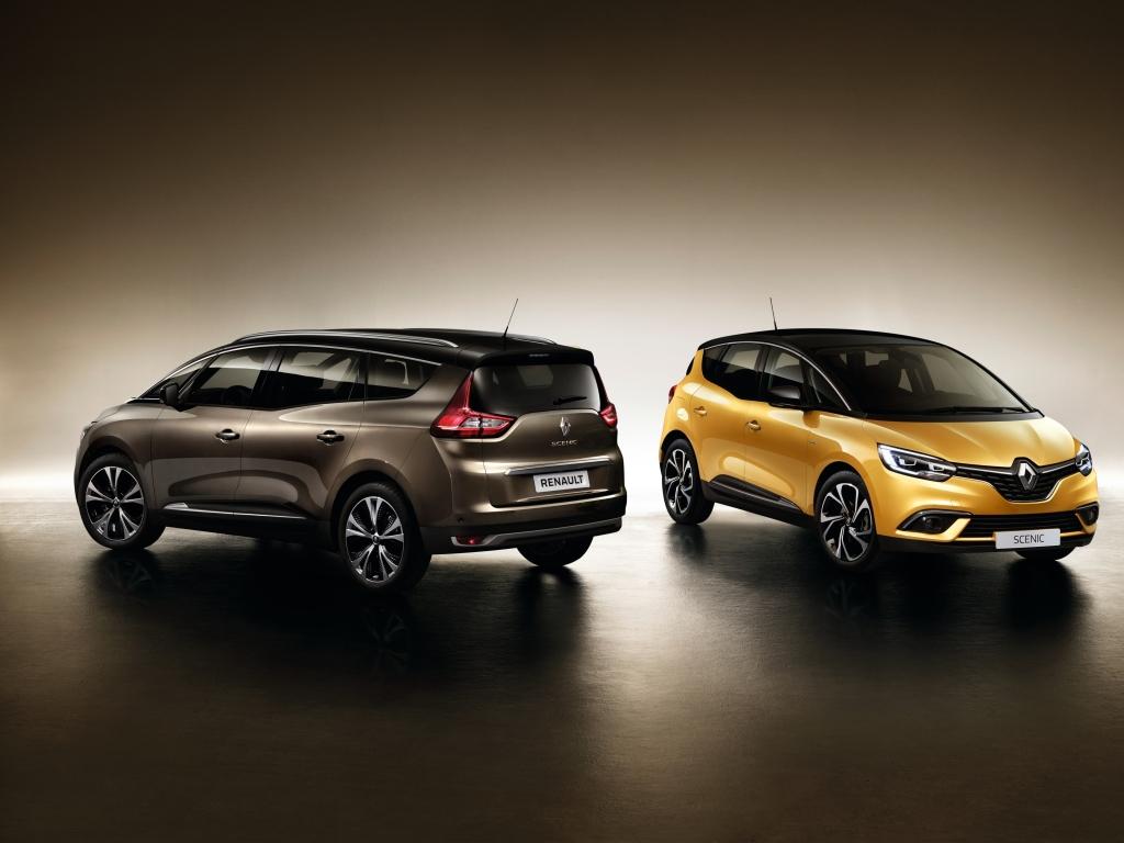 Renault Scénic a Grand Scénic má české ceny, půl milionu stačí