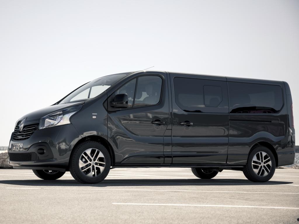 Renault Trafic SpaceClass - luxus pro 9 pasažérů