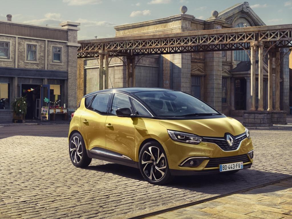 Renault ukázal fotografie nového Scénicu čtvrté generace