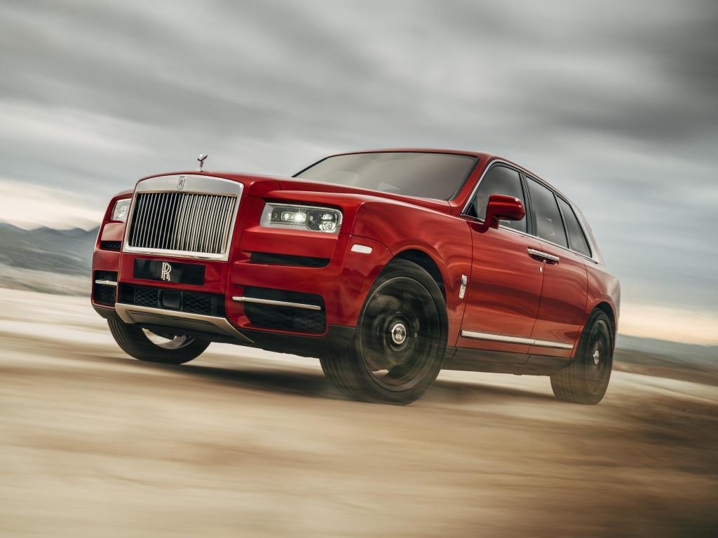 Rolls-Royce Cullinan je ultra luxusní SUV