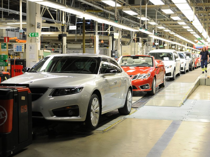 Saab Automobile zahájil výrobu