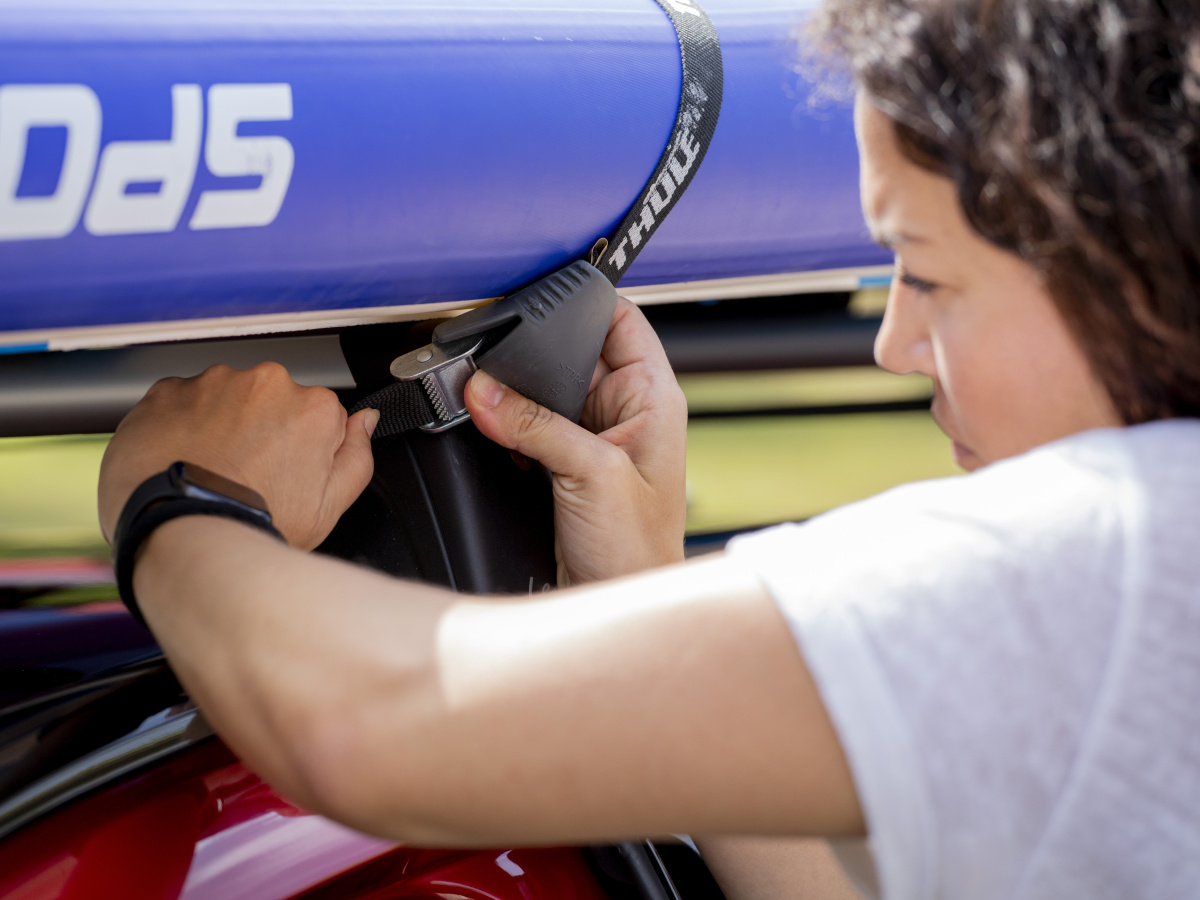 Sedm rad, jak naložit vůz při cestování za vodními sporty