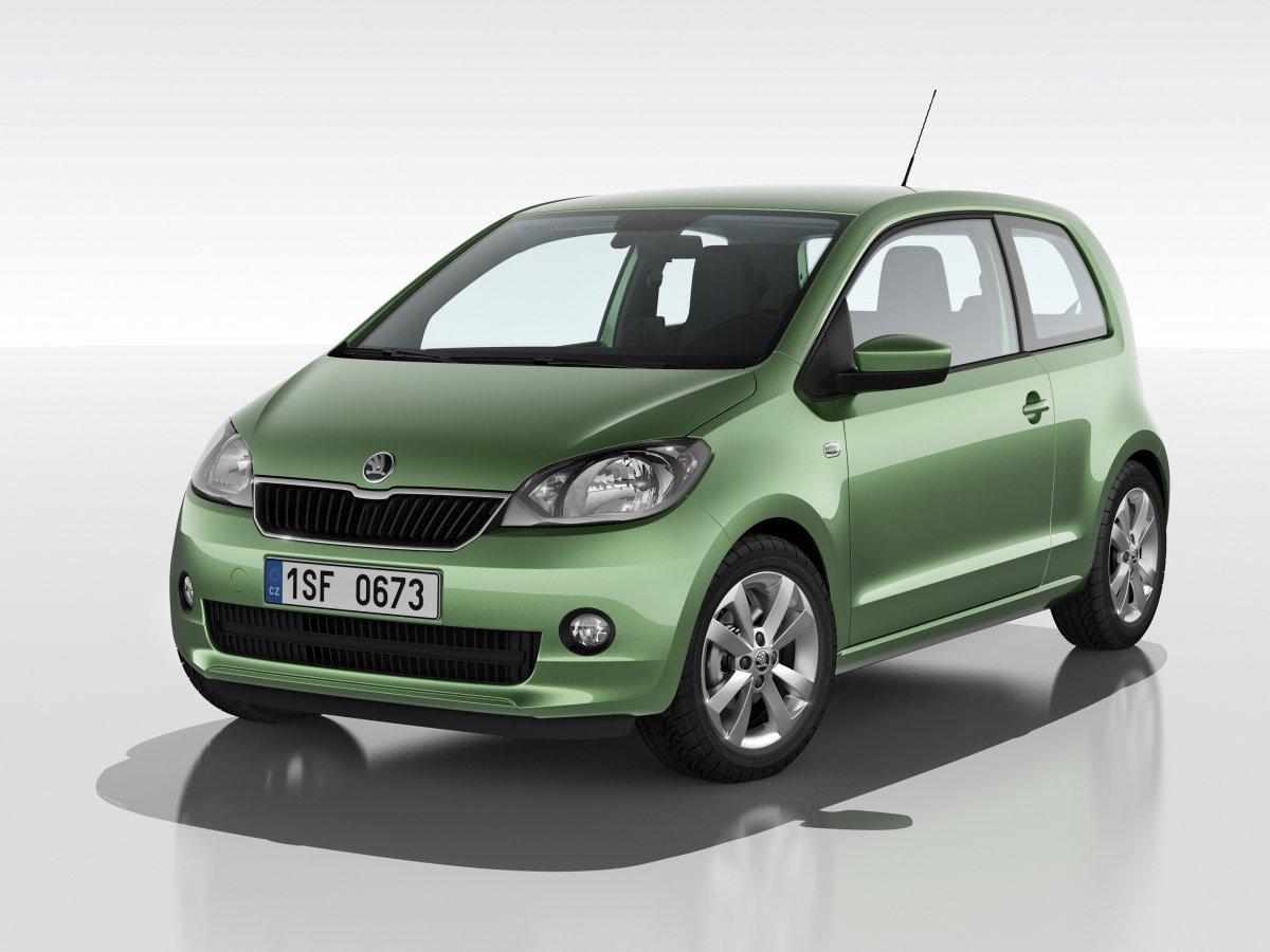 Mini model Škoda Citigo ještě letos