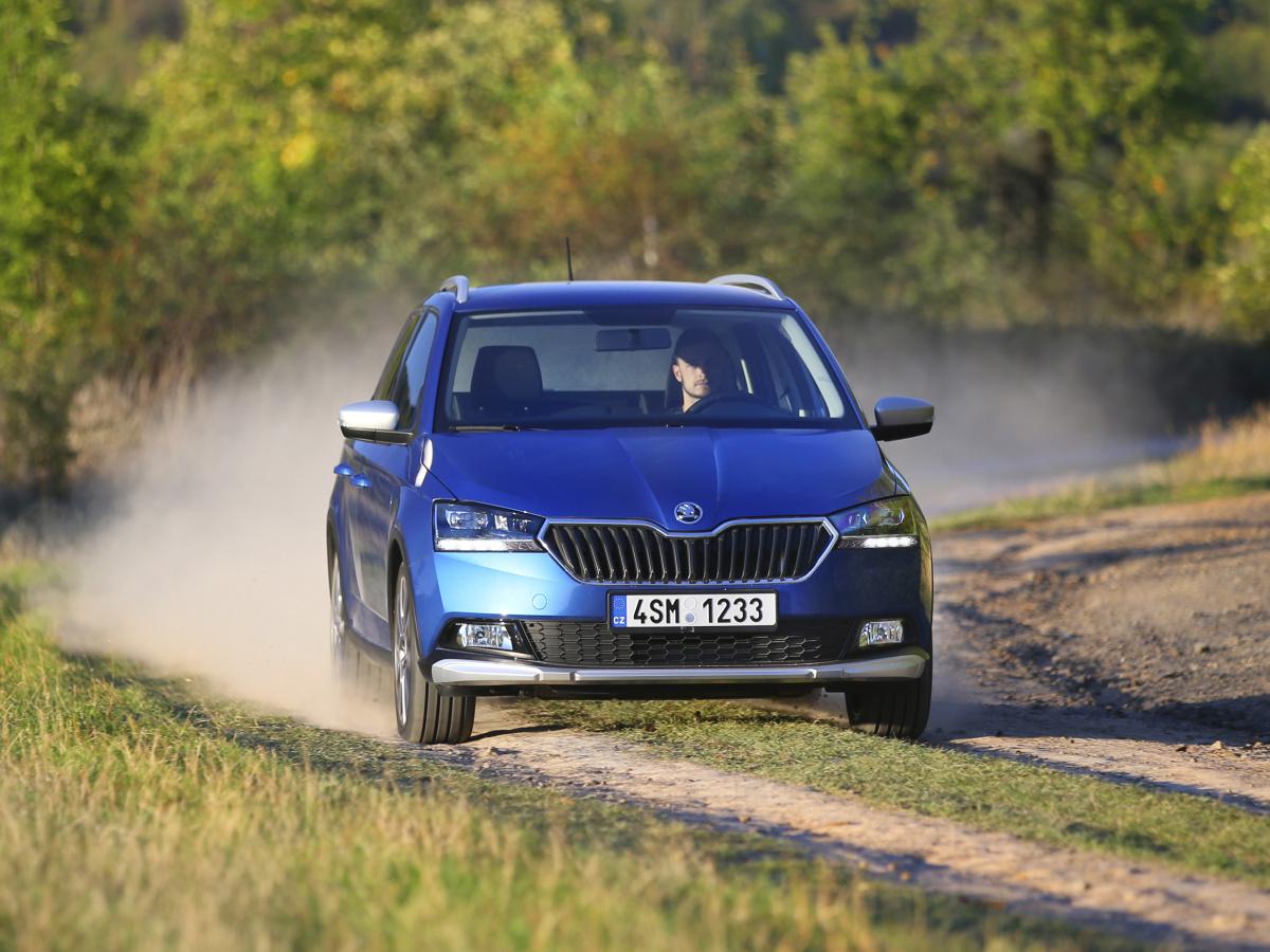 Škoda Fabia Combi Scoutline představena, oplastování není levné