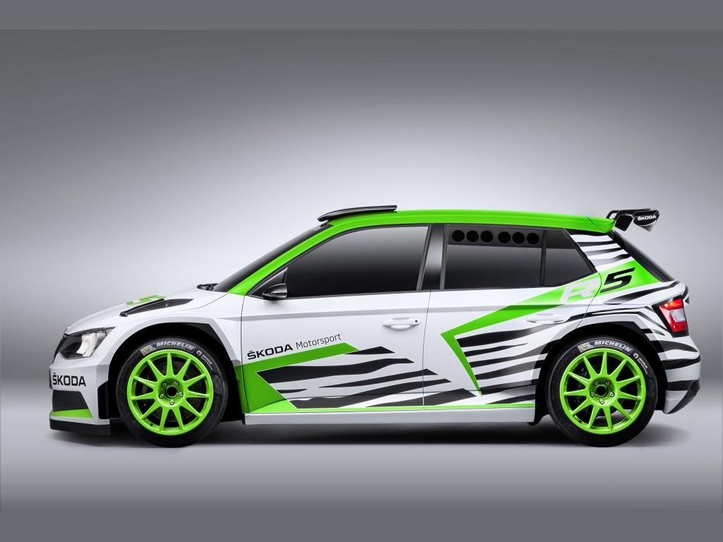 Škoda Fabia R5 se představí na Essen Motor Show