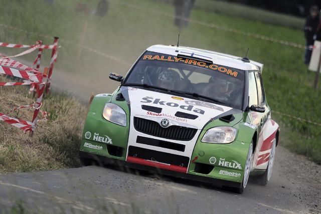 Škoda Motorsport obsadil druhé místo na belgické Ypres rally