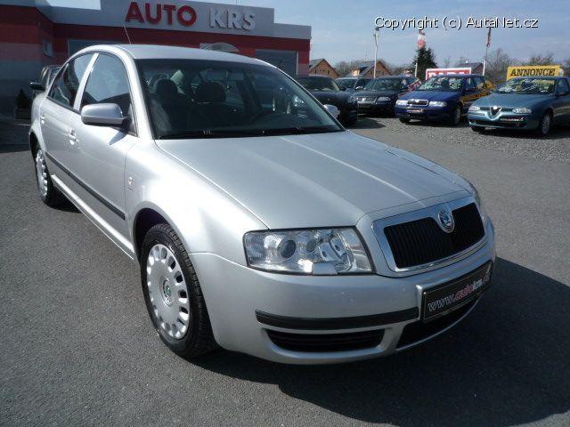 Škoda Superb (2001 - 2008)