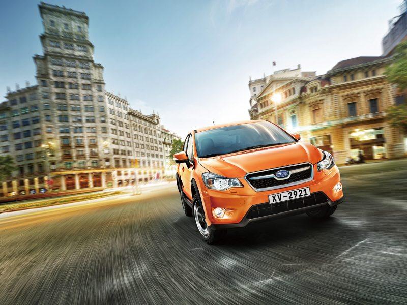 Subaru XV - nový crossover k vidění ve Frankfurtu
