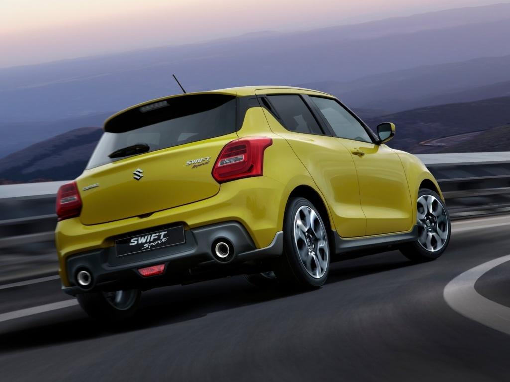 Suzuki Swift Sport zhubl a dostal turbomotor