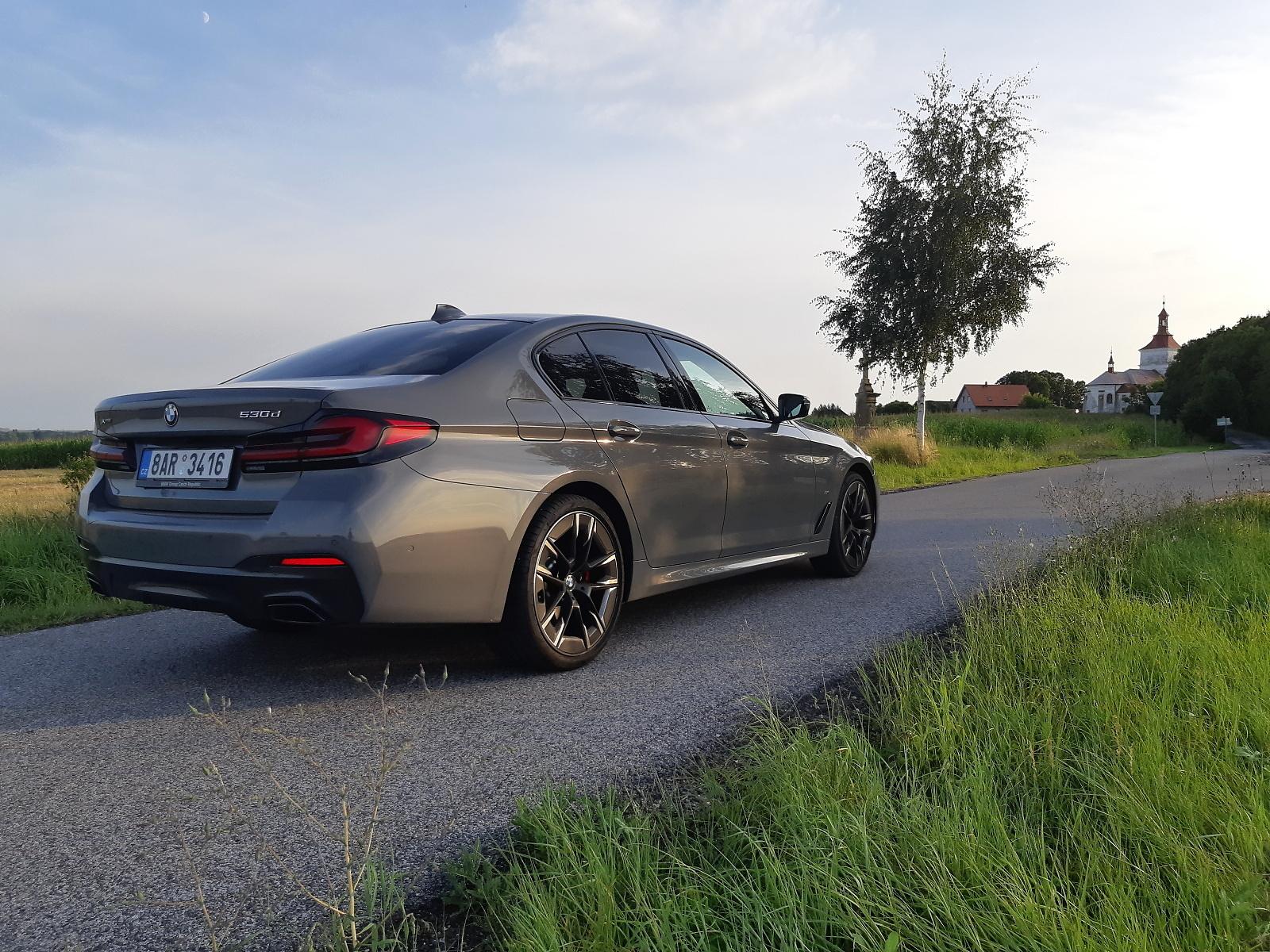 Test: BMW 530d xDrive je ještě lepší, modernizace mu prospěla