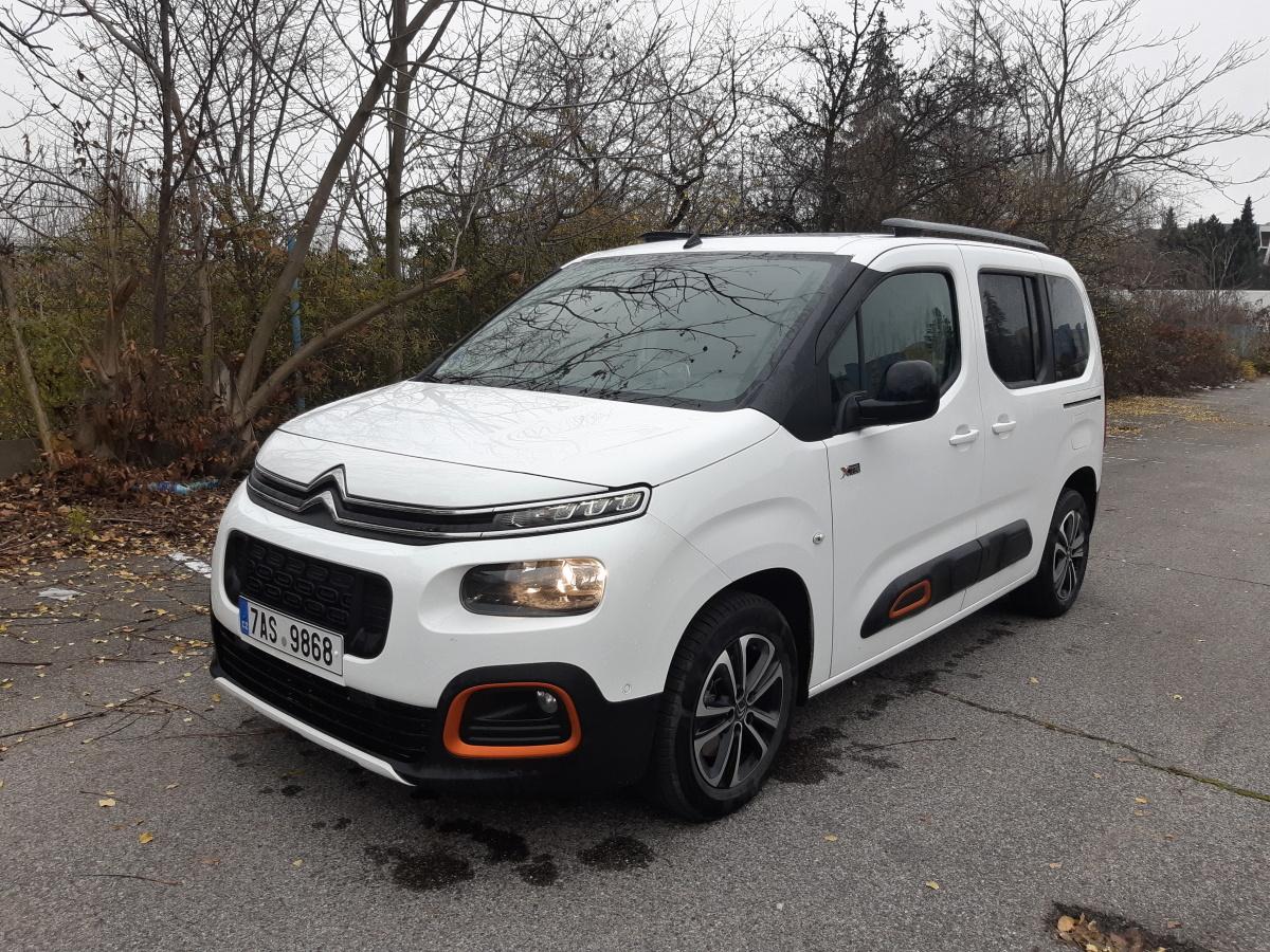 Test: Citroën Berlingo Shine 1.2 PureTech EAT8 - rodinný sen
