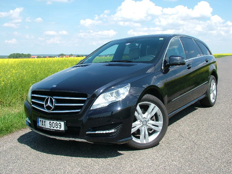 Test: Mercedes-Benz R 350 CDI - L
