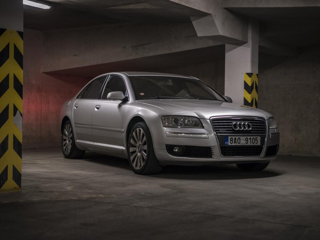 Test ojetiny: Audi A8 4.2 TDI - přitažlivá kasička