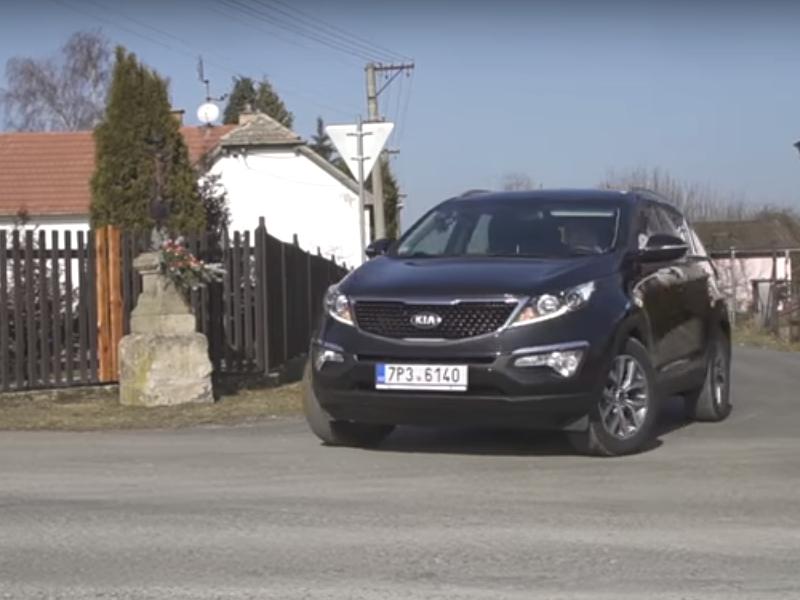 Test ojetiny: Kia Sportage 1.7 CRDi 85 kW 2WD (video)