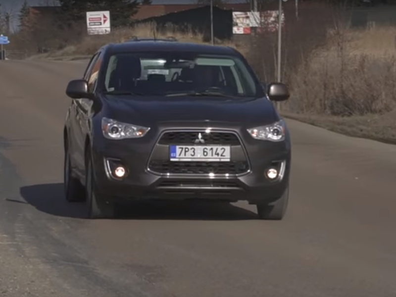 Test ojetiny: Mitsubishi ASX 1.6 DI-D 4WD (video)