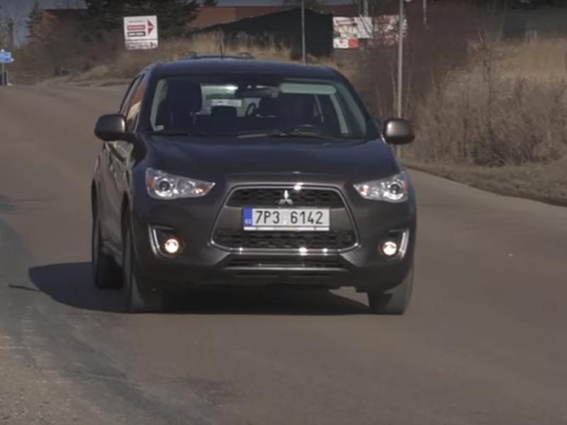 Test ojetiny: Mitsubishi ASX 1.6 DI-D 4WD (video)