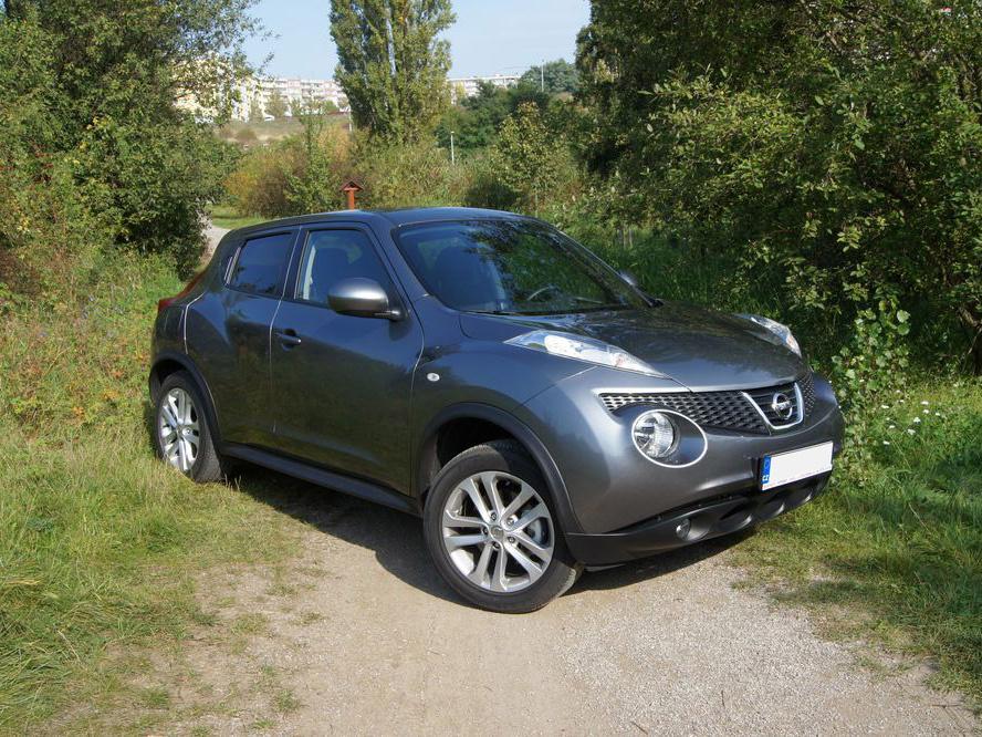 Test ojetiny: Nissan Juke – malý ale výrazný