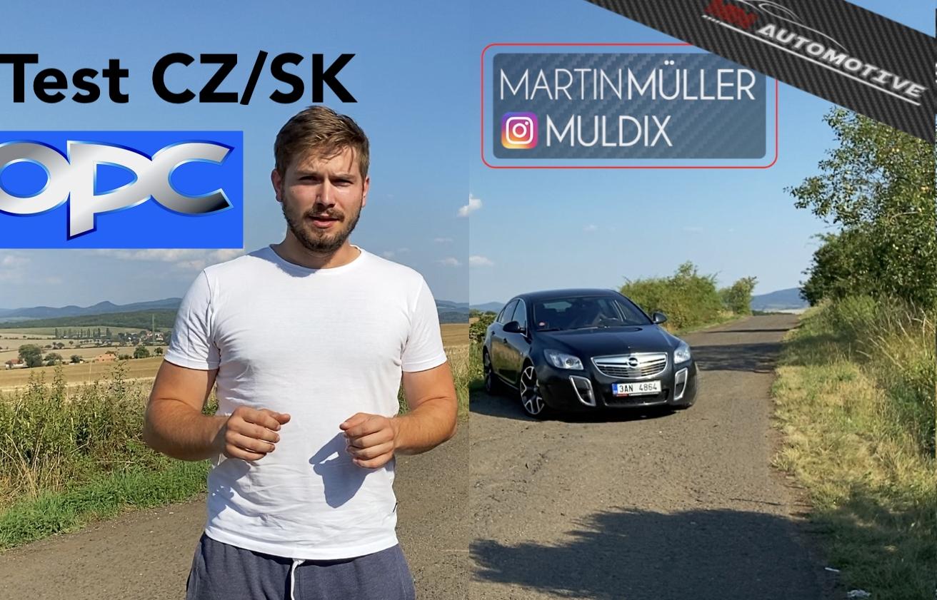 Test ojetiny: Opel Insignia OPC 2013 je plnotučnou sportovkyní
