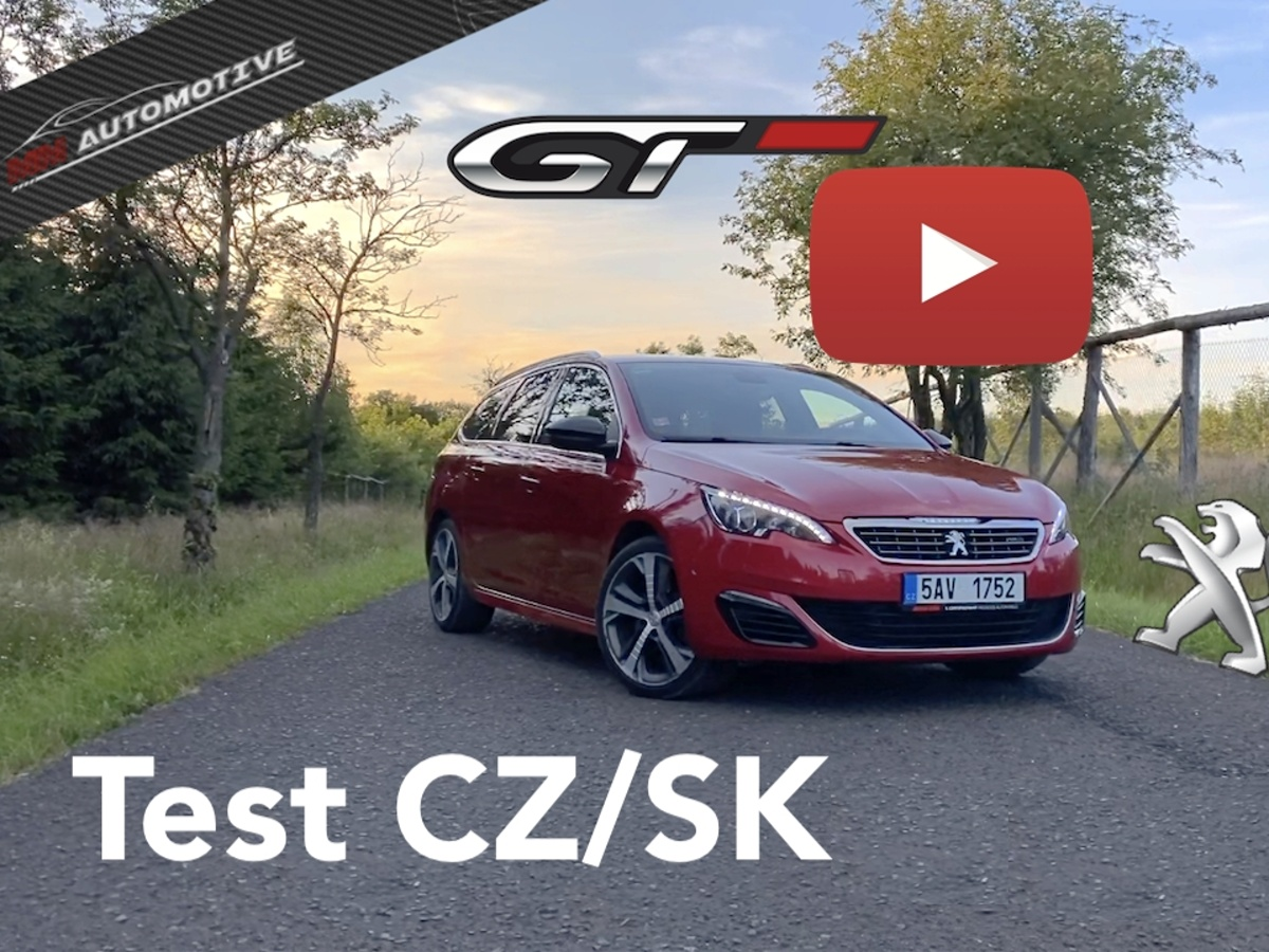 Test ojetiny: Peugeot 308 SW GT 2.0 BlueHDi - konkurent Octavie RS TDI