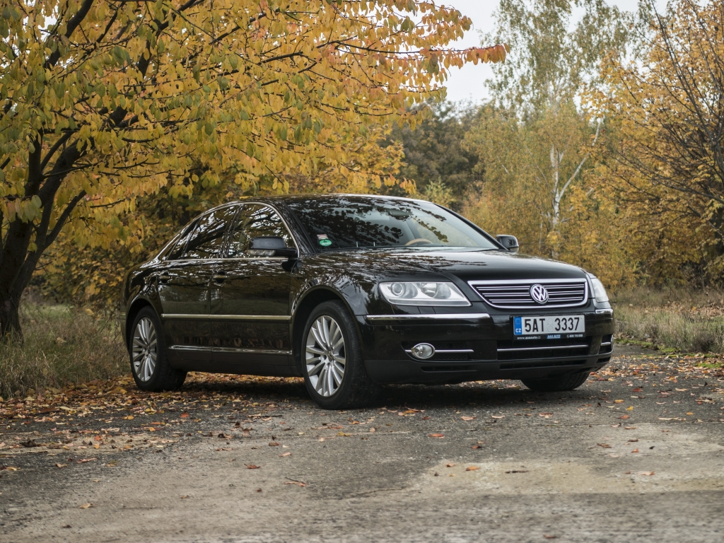 test ojetiny volkswagen phaeton 3 0 tdi opom jen b h. Black Bedroom Furniture Sets. Home Design Ideas