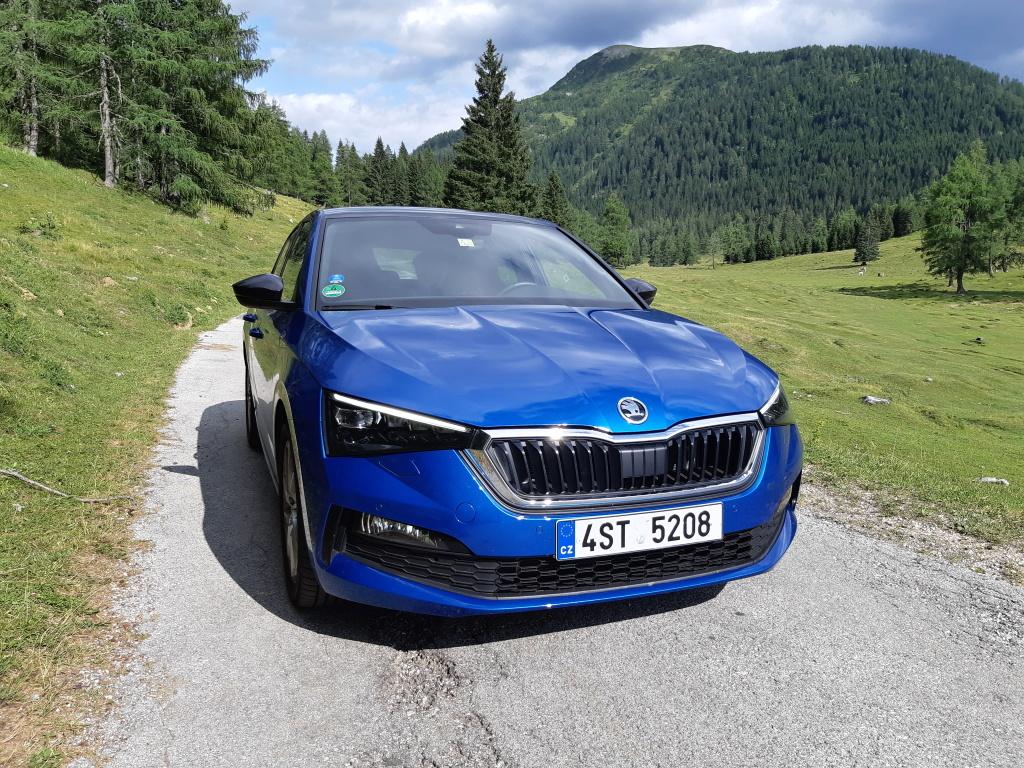 Test: Škoda Scala 1.0 TSI - jak si poradila s horskými přejezdy a 3 tisíci kilometry?