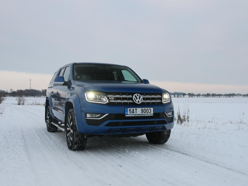 Test: Volkswagen Amarok 3.0 TDI V6 – výsměch konvencím