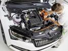 Výroba plug-in hybridní Škody Superb iV zahájena
