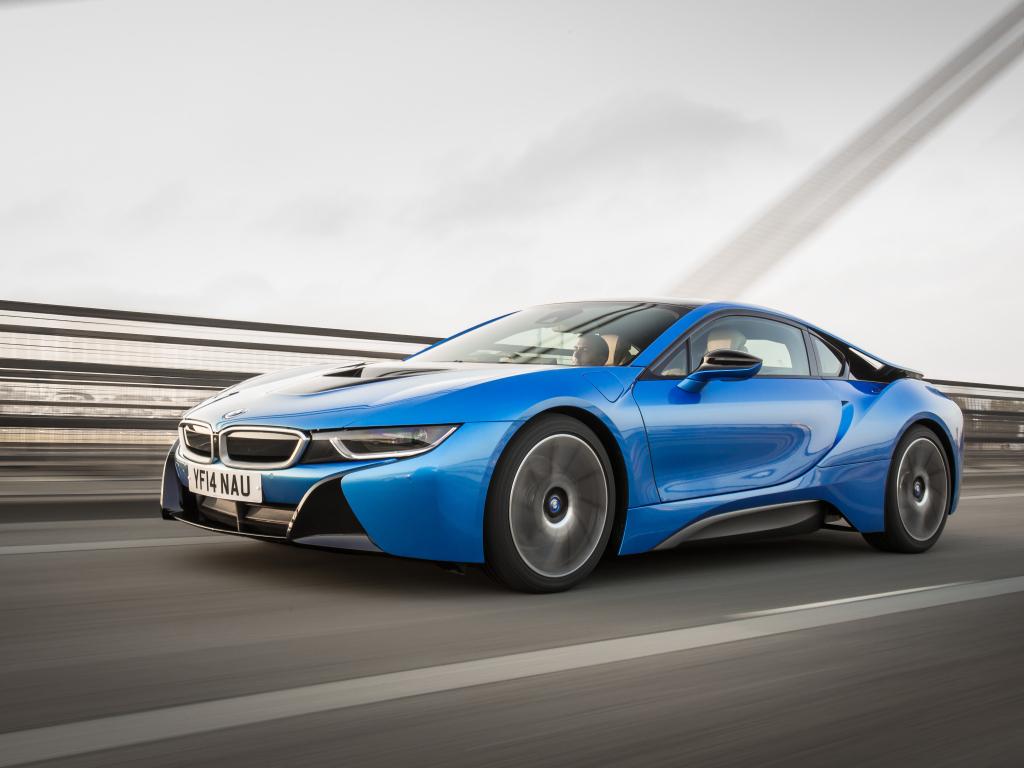 Top Gear vyhlásil Autem roku BMW i8