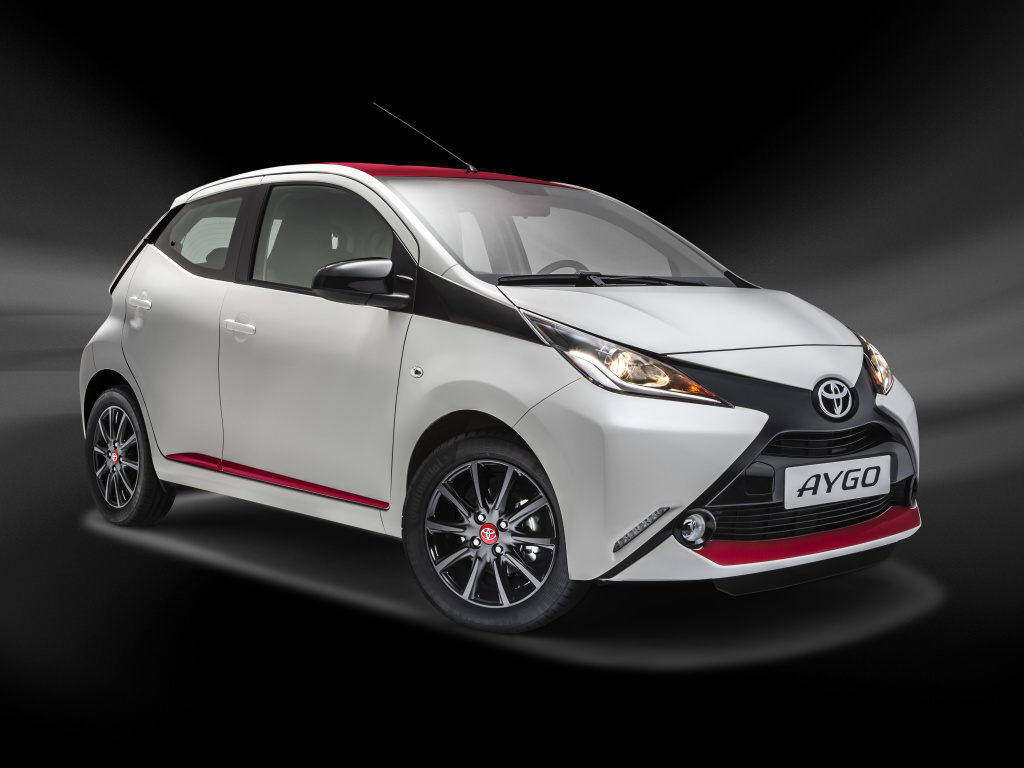Toyota Aygo v edici Selection vsází na design