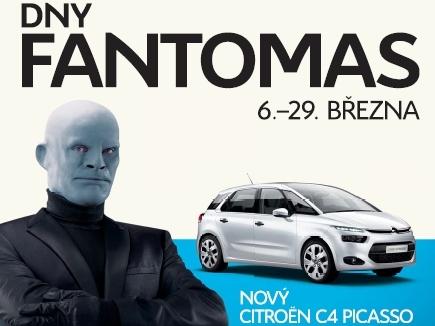 U Citroënu probíhají Dny Fantomas