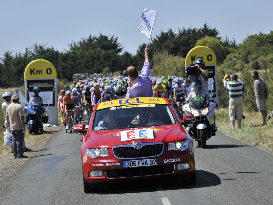 Úspěšné sponzorství Škody na Tour de France