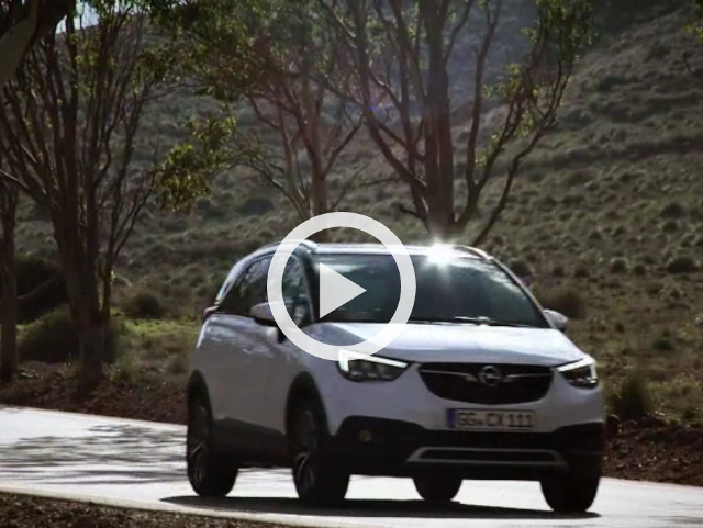Video: Opel Crossland X - nový crossover do města