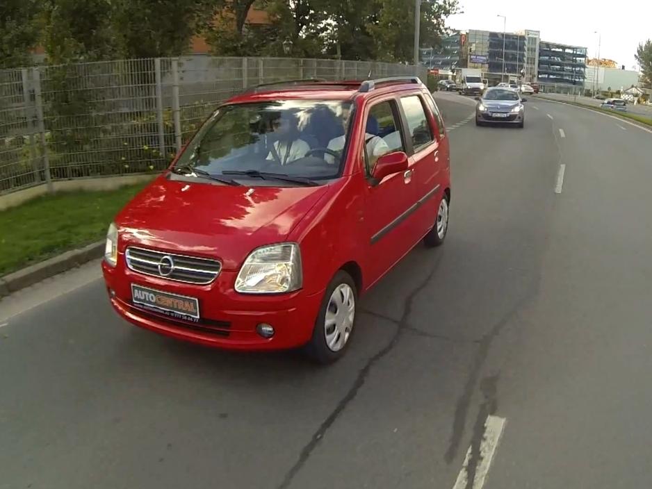 Video: Test Opel Agila I.