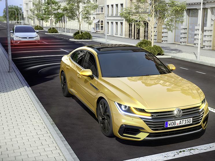 Volkswagen Arteon a jeho čtyři moderní vychytávky