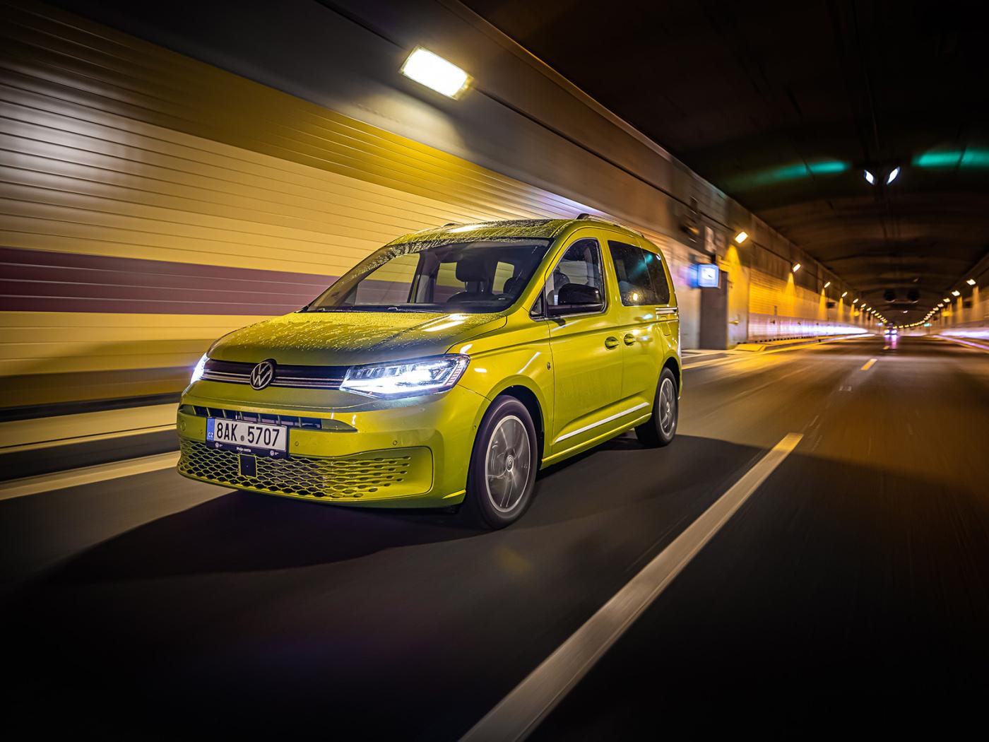 Volkswagen Caddy 5 vstupuje na český trh s akčními cenami