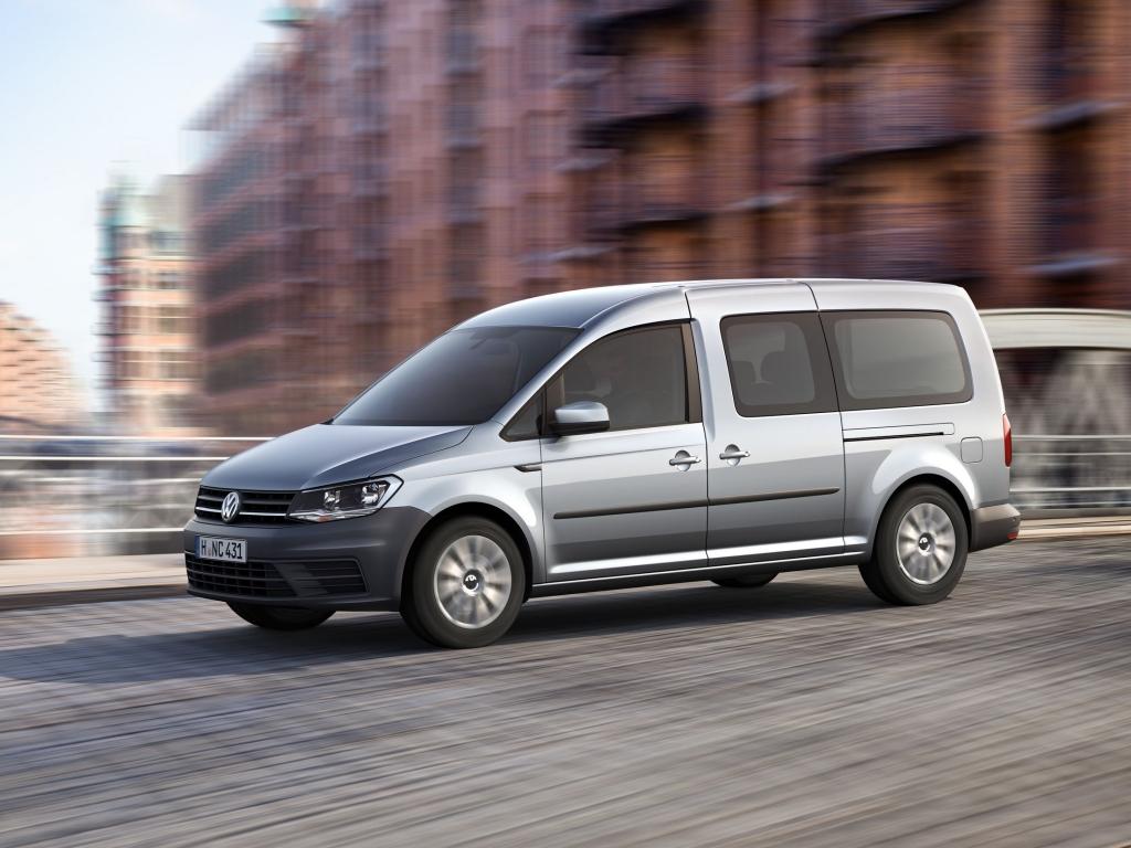Volkswagen Caddy Maxi – prodloužená verze je tady