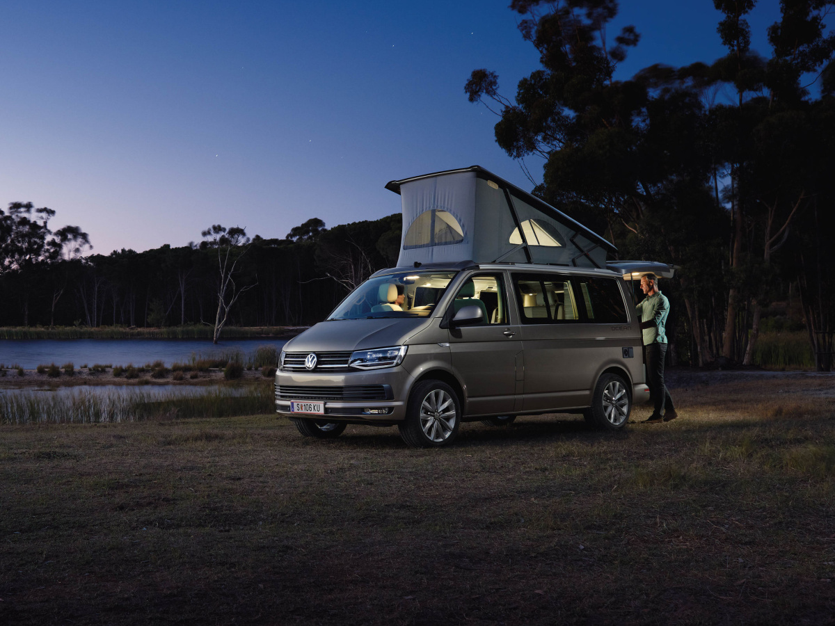 Volkswagen California 6.1 nově s digitálním ovládáním kempovacích funkcí