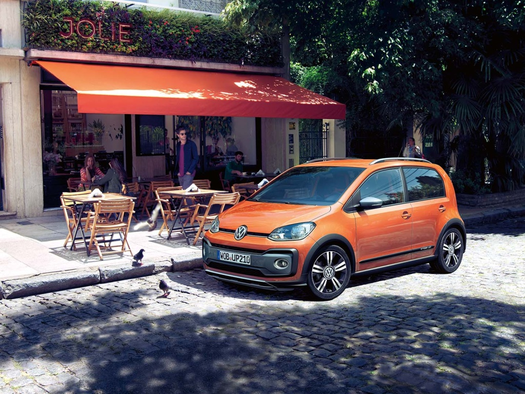 Volkswagen cross up! přichází na český trh, ceny od 337 900 Kč