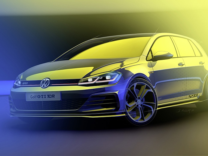 Volkswagen Golf GTI TCR jede až 264 km/h