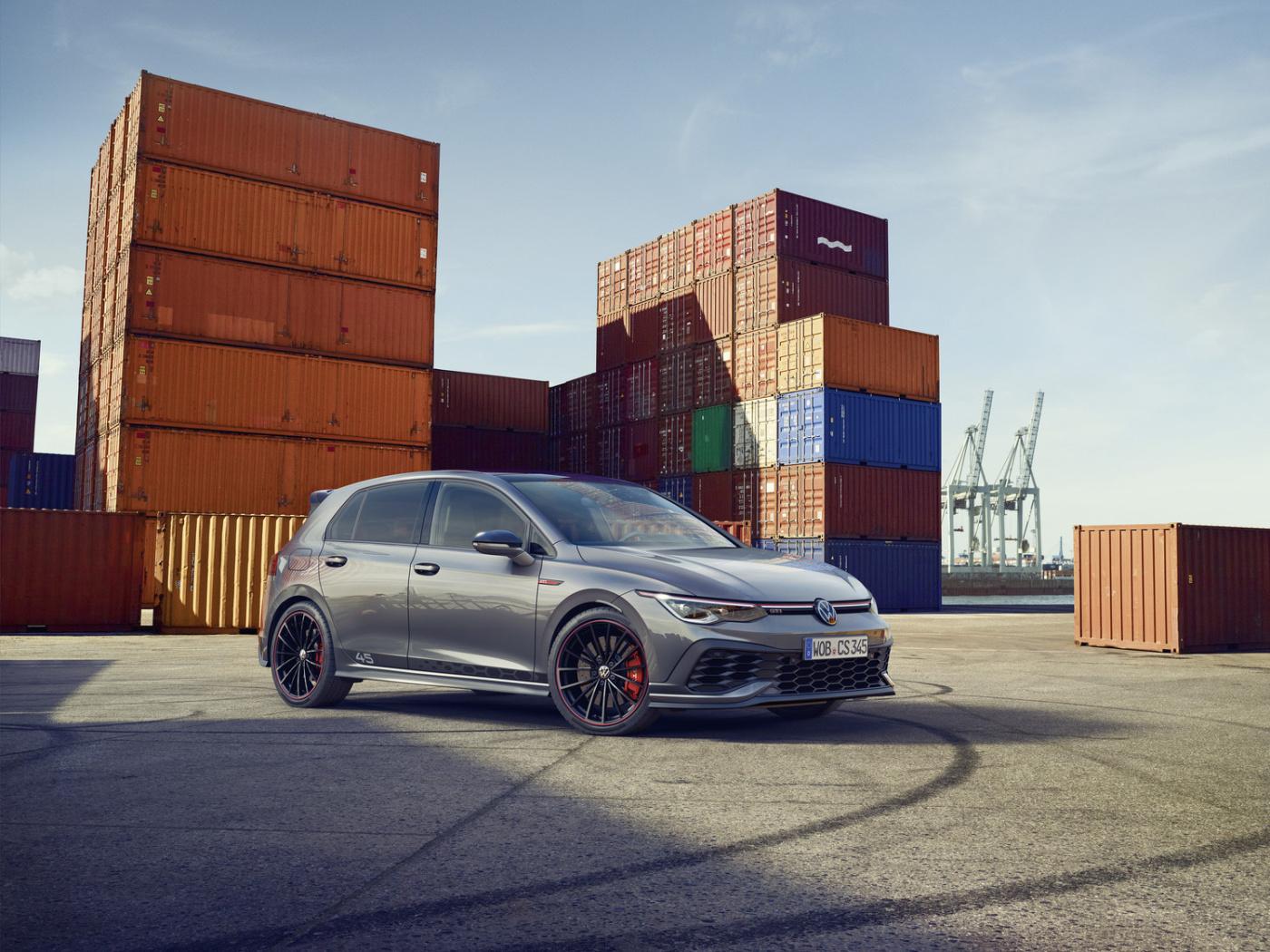 Volkswagen připravil speciální edici Golfu GTI Clubsport 45