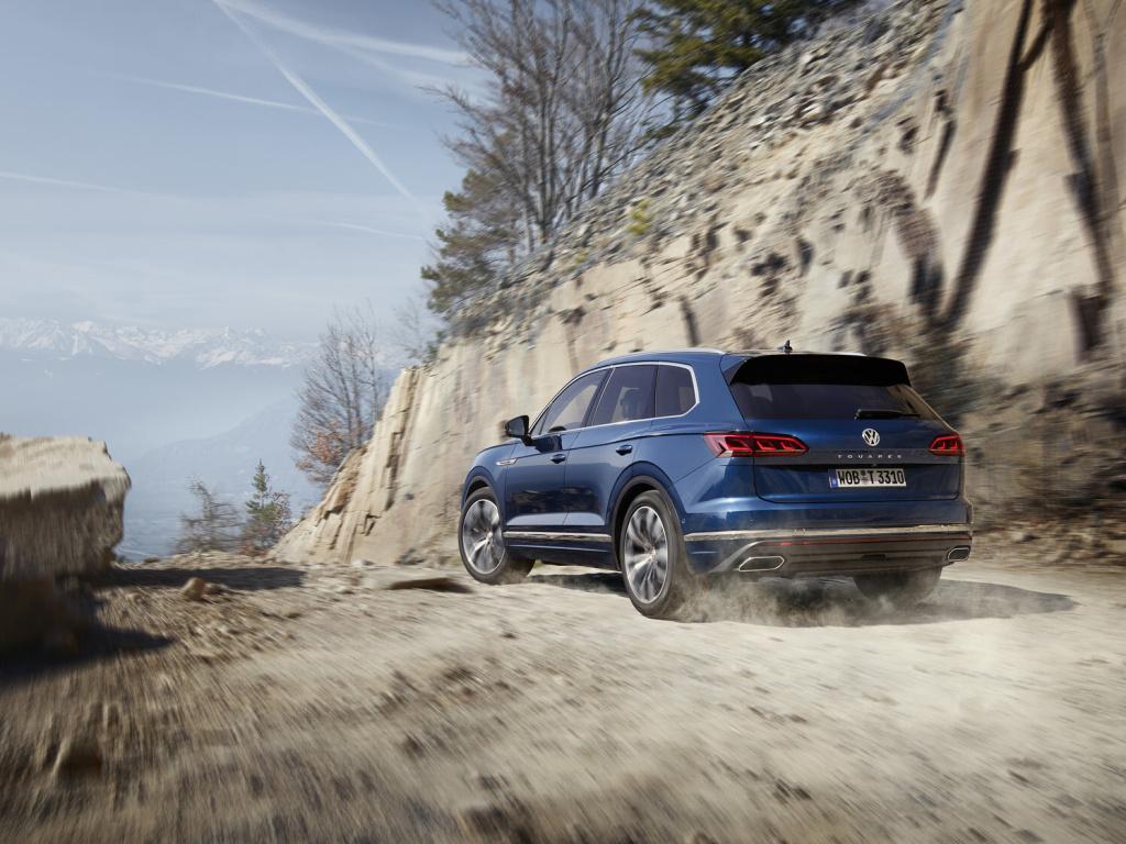Volkswagen Touareg dostal nové motory, V6 TSI a V8 TDI